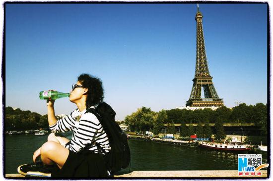 法国巴黎埃菲尔铁塔元素