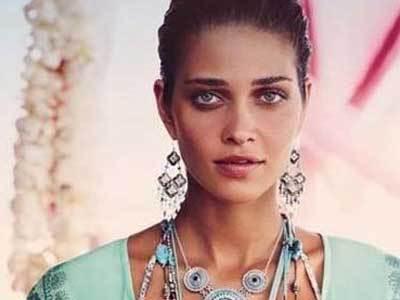 混血种人西班牙人美女黑种人与白种人的混血美女
