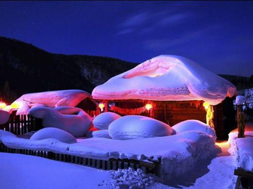 雪乡位于牡丹江市所辖海林市长汀