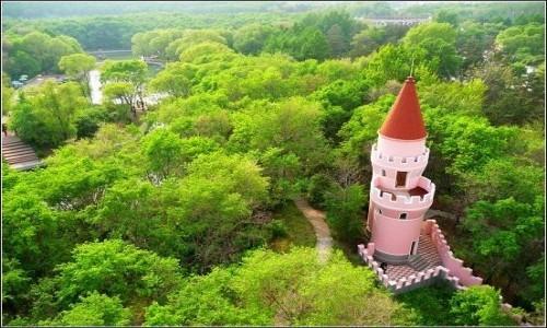 森林植物园 哈尔滨最大的森林植物园(图)