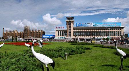 哈尔滨极地馆,防洪纪念塔