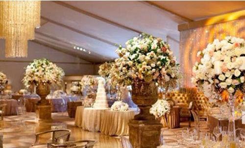 宫廷式婚礼 在时尚王国做一个自在的贵族(组图)