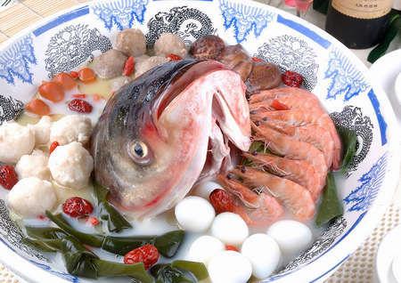 海鲜千岛湖鱼头