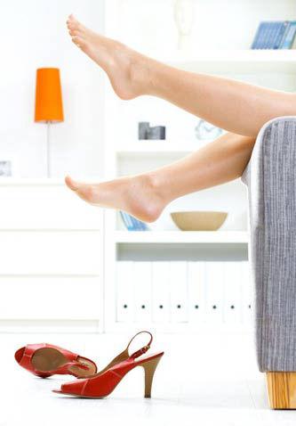 避免高跟鞋疼痛六步骤