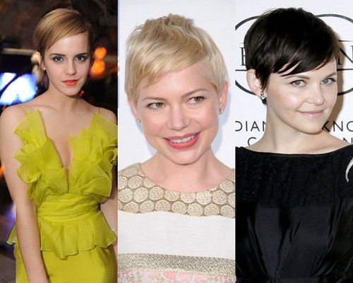依次为:Emma Watson、Michelle Williams、Ginnifer Goodwin