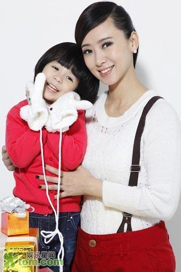 翁虹和女儿