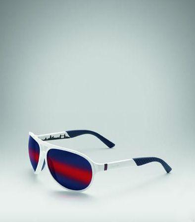 红白蓝三色太阳眼镜
