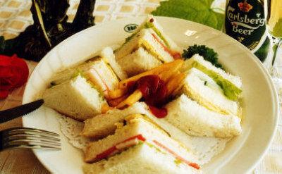 一分钟早餐三明治