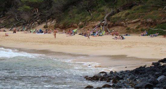 夏威夷毛伊岛:小海滩(Little Beach)