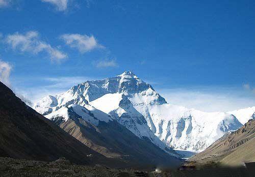 珠穆朗玛峰探险