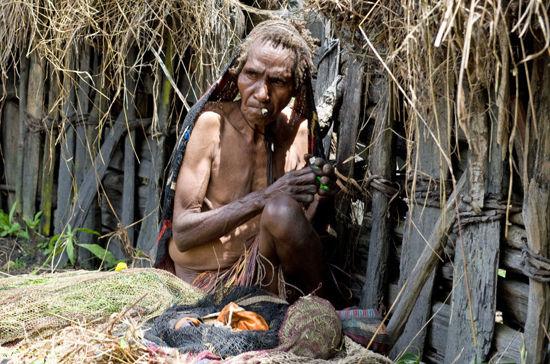达尼部落的人