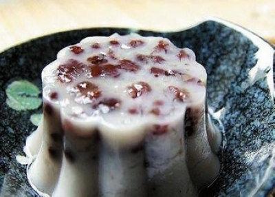 椰汁红豆糕