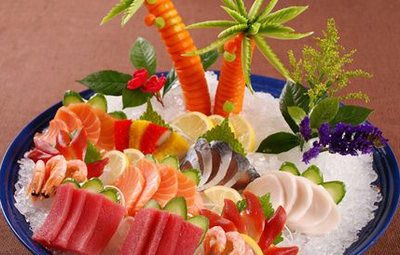 选择生鱼片做主食