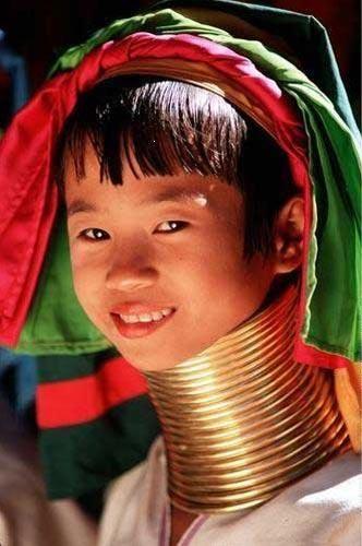 泰缅边境长颈族