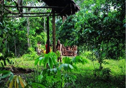 奥卡伊娜村村民