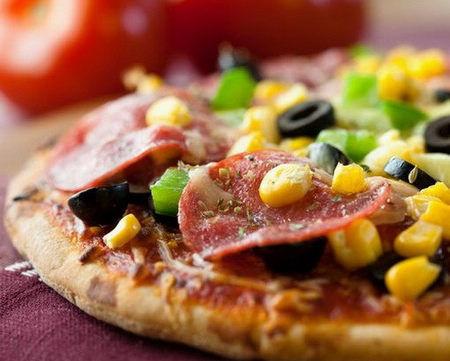 披萨热量高
