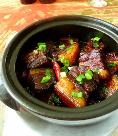 小锅红烧肉