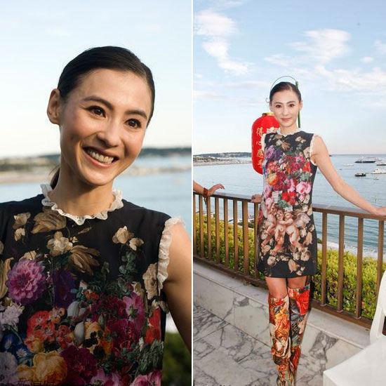 高级成衣系列印花裙
