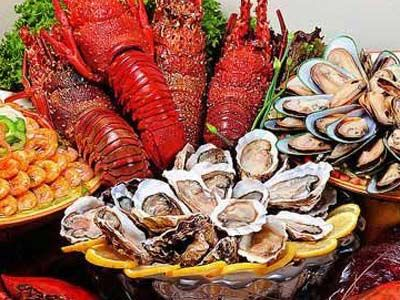 海鲜海鲜和瘦肉一样富含锌元素