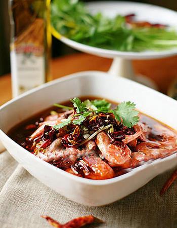 水煮北极虾