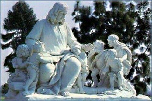 园区内的雕塑