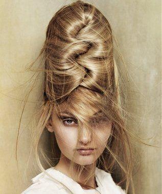 复古蜂窝头 引领星发型