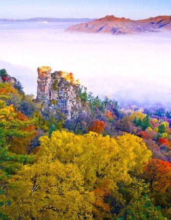 五花山景观