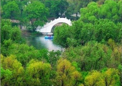 龙沙公园景观