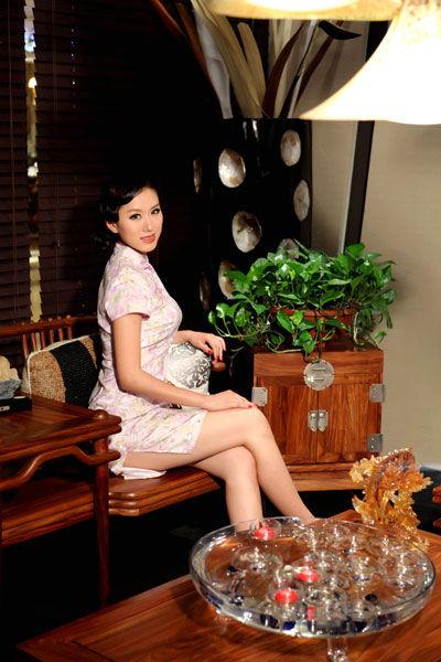 气质美女的新中式小窝