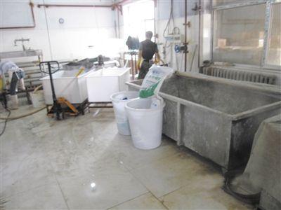 丽水食品厂生产车间