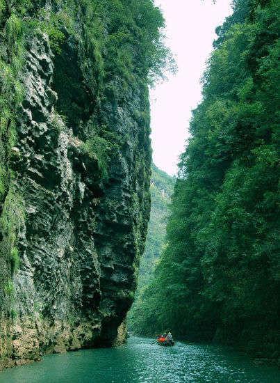 壮美神奇的神龙溪