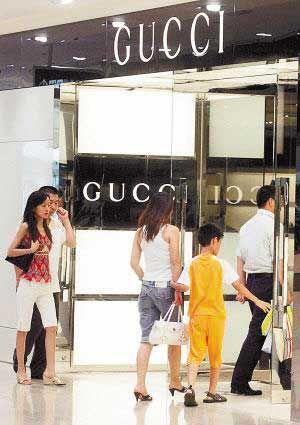 中国奢侈品市场消费