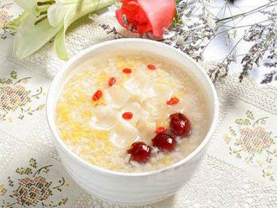 豆浆红枣粥