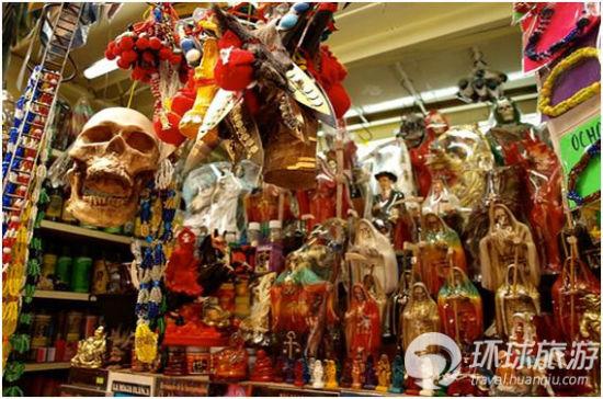 墨西哥:索诺拉巫术市场