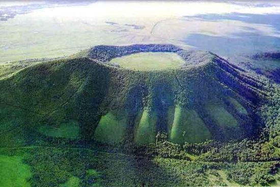 五大连池火山