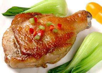 食品诱人的十种鸡腿做法之香煎鸡腿_美食频道电筛美味图片
