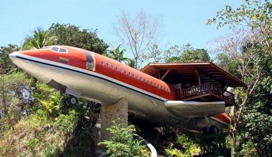 丛林飞机房屋