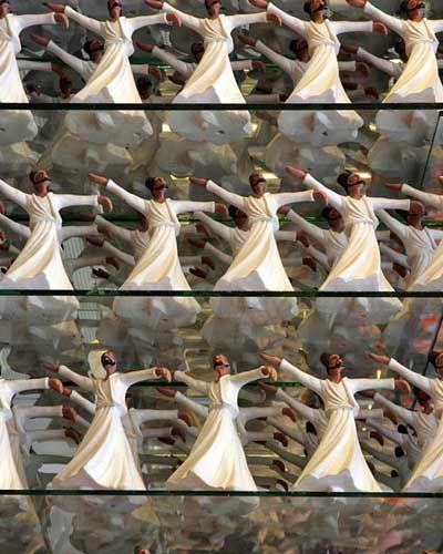 土耳其科尼亚的鲁米之墓