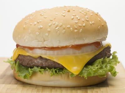 芝士汉堡的制作方法步骤