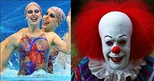 奥运会上的爆笑撞脸