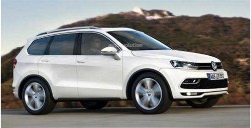 中美VW联手 大众将推出全新七座中型SUV高清图片
