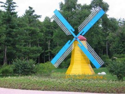 荷兰式大风车