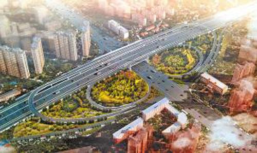 徐州三环西路高架桥;