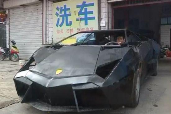 中国农民 6万人民币打造兰博基尼reventon中国有没有兰博基高清图片
