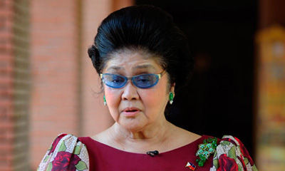 菲律宾前第一夫人伊梅尔达 马科斯