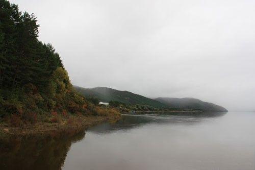 黑龙江省呼玛县塔河十八站风景