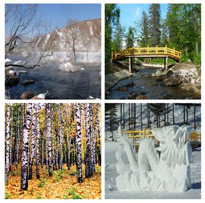 大亮子河国家森林公园地图分享展示