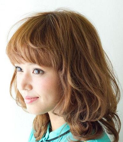 外国美女发型设计侧脸高清图片图片