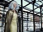 废墟超模化身白发魔女高级华服御姐气场