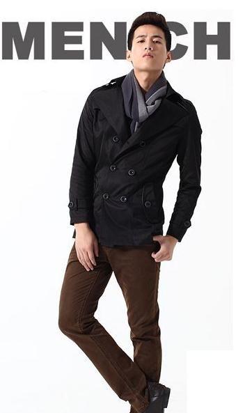 商务男士冬装搭配型范男人味